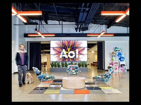 Tech Company Aol New Offices Palo Alto Arent Disaster