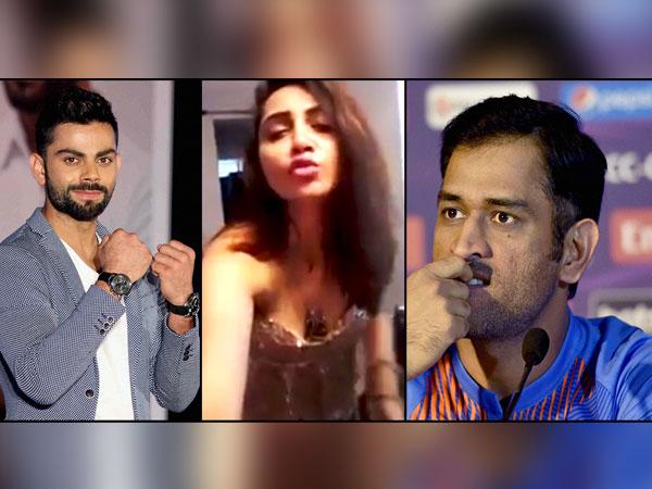 Arshi Khan Threatens Rape Dhoni Virat Kohli