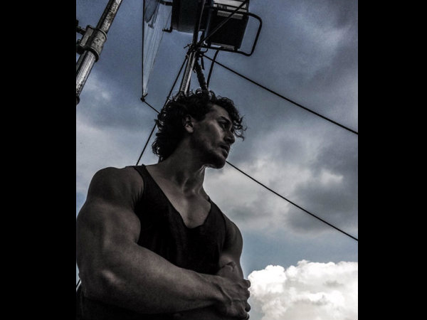 Tiger Shroff Pic From The Baaghi Sets