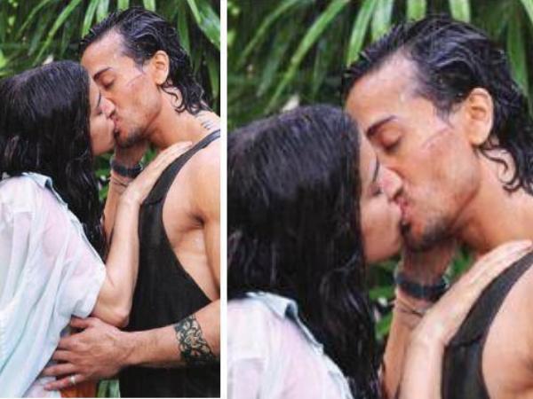 Tiger Shroff Shraddha Kapoor Kissing Scene From Baaghi