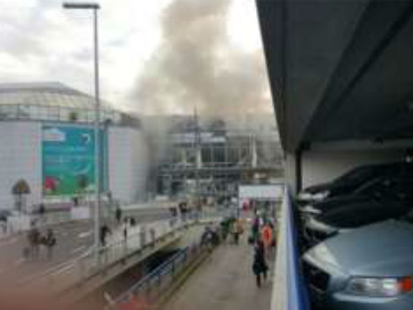 Twin Blasts Rock Brussels International Airport Belgium