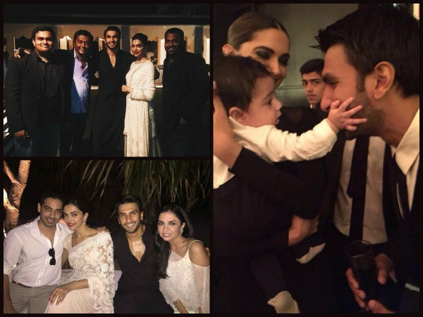 Deepika Ranveer Playing With Baby Having Blast With Friends