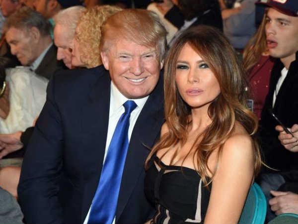 See Pics Of Hot Bold Beautiful Wife Donald Trump Melania