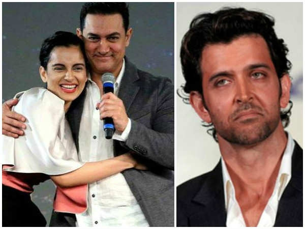 Is Aamir Khan Helping Kangana In Legal Fight With Hrithik Roshan
