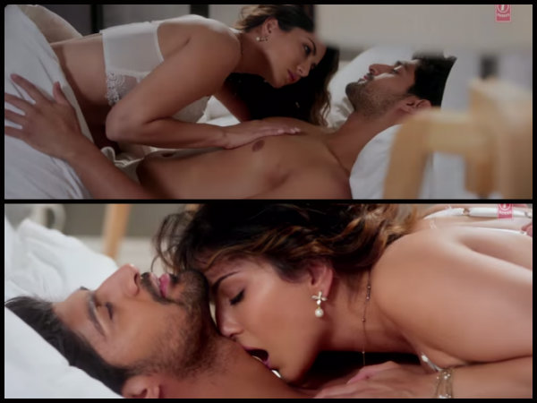 Sunny Leone S Hot Sensuous Intimate Scenes From One Night Stand