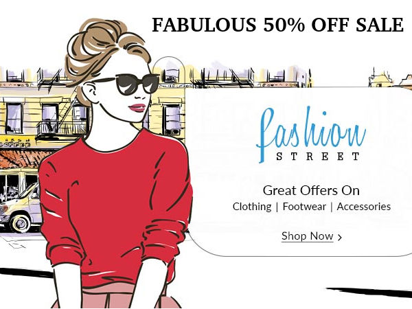 The Fabulous 50 Off Sale Is Back Shop From Flipkart Paytm