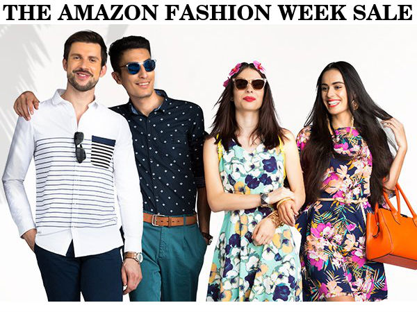 The Amazon Fashion Week Sale Get 80 Discount