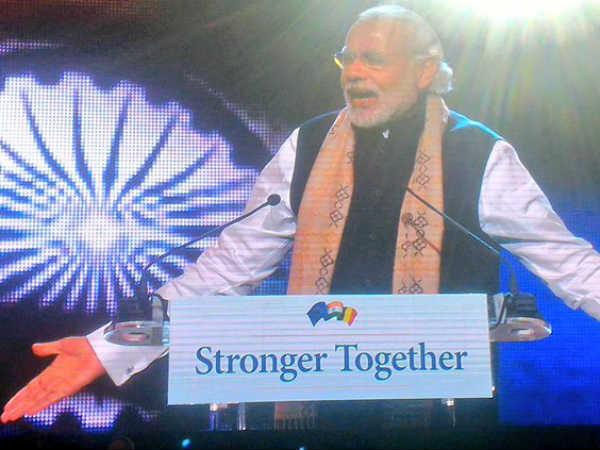 Pm Modi Addresses Indians Brussels Gives Mantra Un Against Terrorism