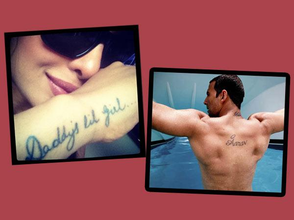 South Indian Celebrities With Their Tattoos