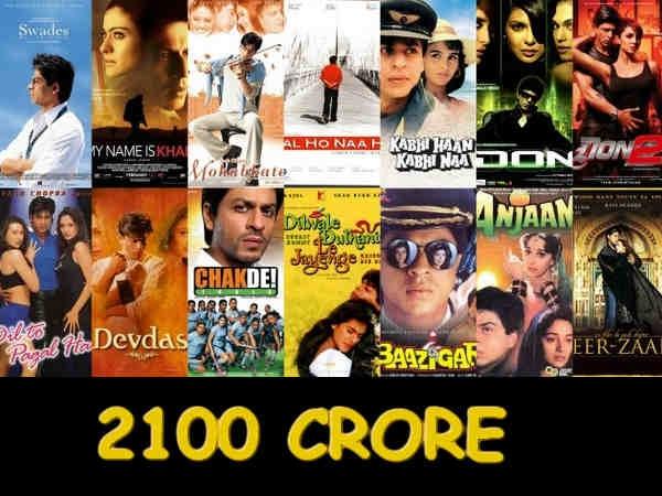 Shahrukh Khan Films Set Cross Rs 2100 Crore 029029 Pg