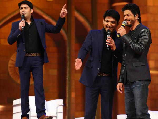 Kapil Sharma Show First Episode With Shahrukh Khan