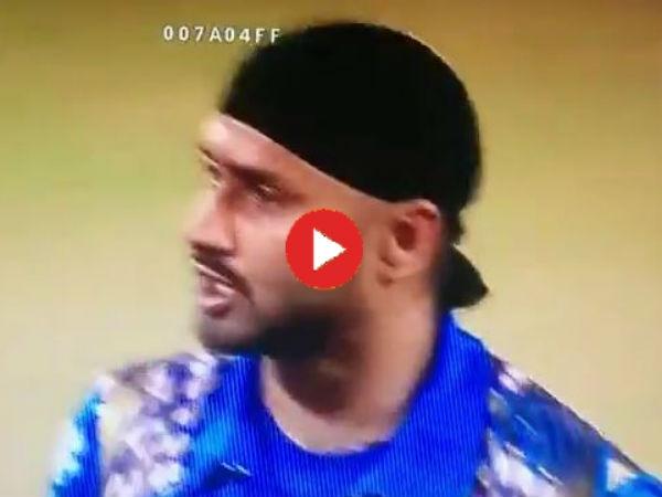 Harbhajan Singh Vs Ambati Rayudu Ipl 2016 Fight