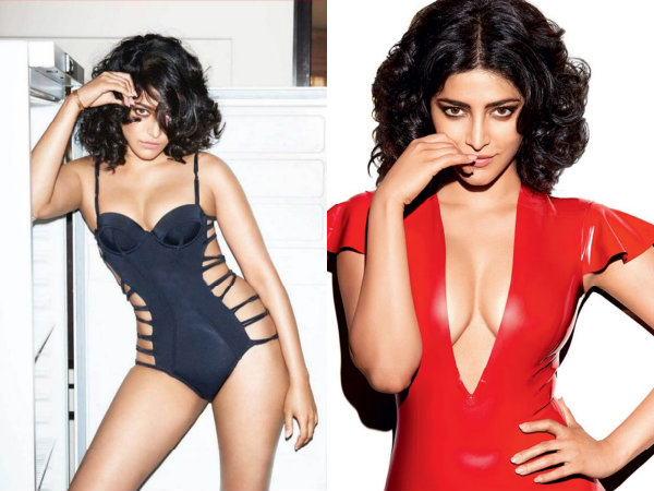 Red Hot Pictures Of Shruti Haasan From The Cover Page Of Gq Magazine