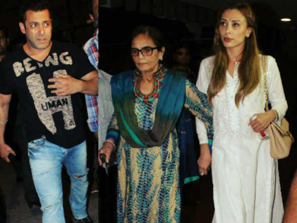 Salman Khan Lulia Vantur Spotted Together