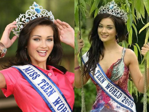 Pictures Amy Jackson From Her Miss Teen World England Days