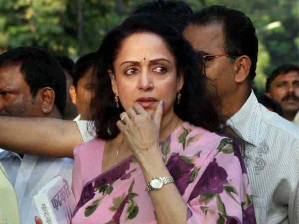 While Mathura Is Burning Local Mp Hema Malini Busy Shooting For Film