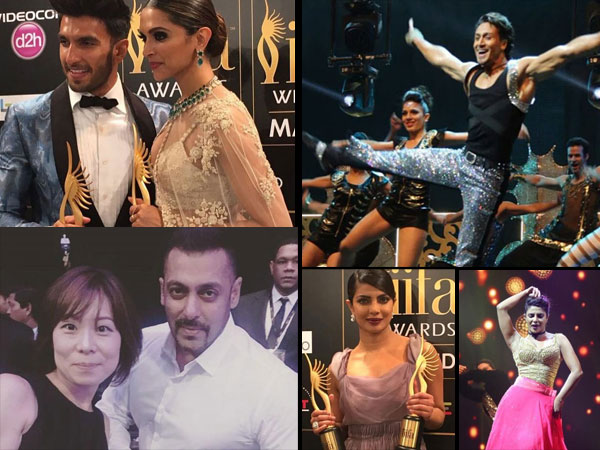 Deepika Ranveer Stole The Hearts Other Stars Rocked At Iifa