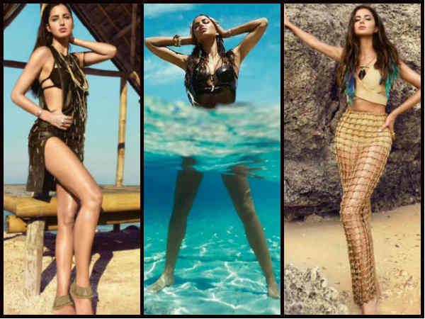 Pics Katrina Kaif S Turns Hot Mermaid Vogue India Photoshoot