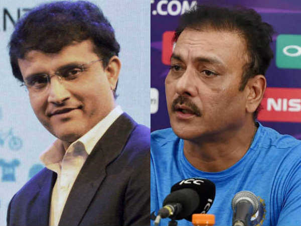 Shastri Shouldn T Have Been Holidaying Bangkok Ganguly Hits Back