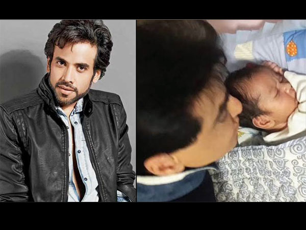 Tushar Kapoor S Son Is Just Like Him See First Pic