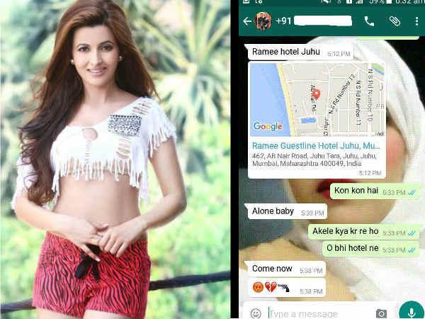 Ajaz Khan Sending Vulgar Messages To Aishwarya