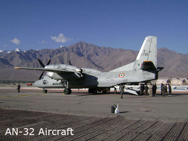 Indian Air Force An 32 Plane Goes Missing