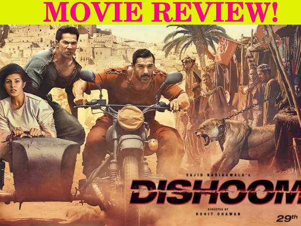 Dishoom Film Review Varun Dhawan John Abraham Jacqueline Fernandez