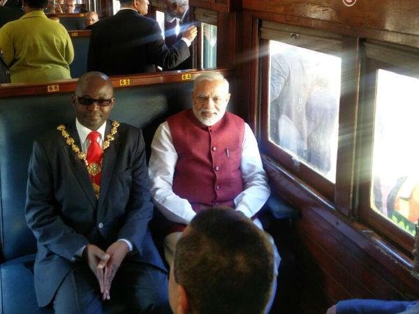 Pm Travels From Pentrich Railway Station Pietermaritzburg