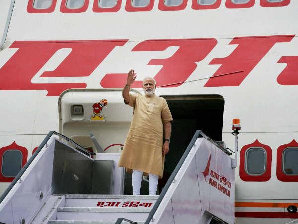 Prime Minister Narendra Modi Leaves 4 Nation African Tour