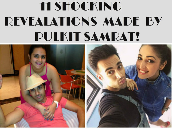 Pulkit Samrat Made 11 Shocking Revelation About Shweta Rohir