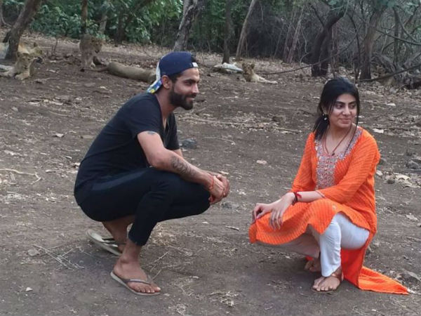 Ravindra Jadeja Selfie With Lion Case Update Gujarati
