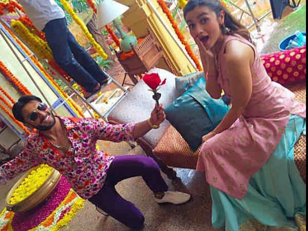 Ranveer Singh Is Going Down On His Knees For Alia Bhatt See Pics