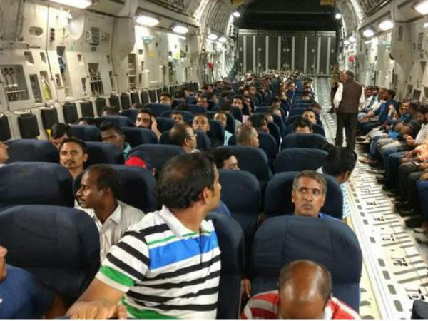 Operation Sankat Mochan Iaf Airlift 156 Indians From South Sudan