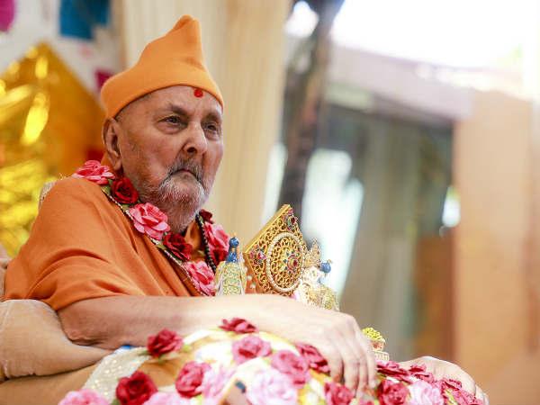 Swaminarayan Pramukh Swami Pass Away