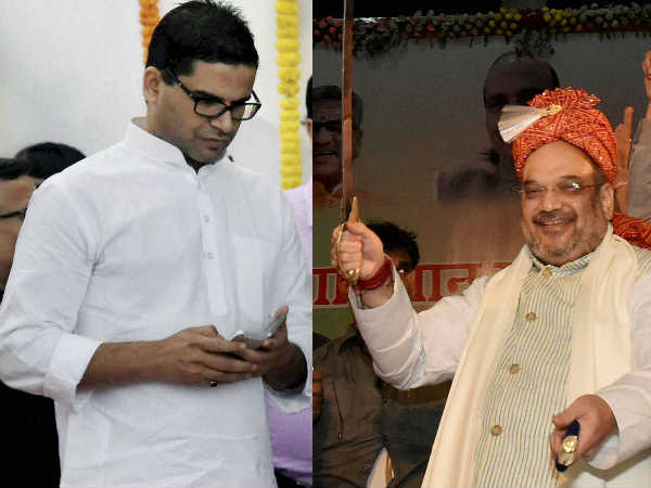 Amit Shah Poaches 50 People Trained Prashant Kishor For Congress