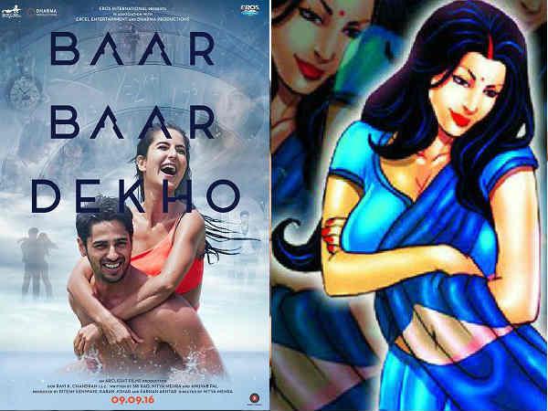 Katrina Kaif Baar Baar Dekho Has Savita Bhabhi References