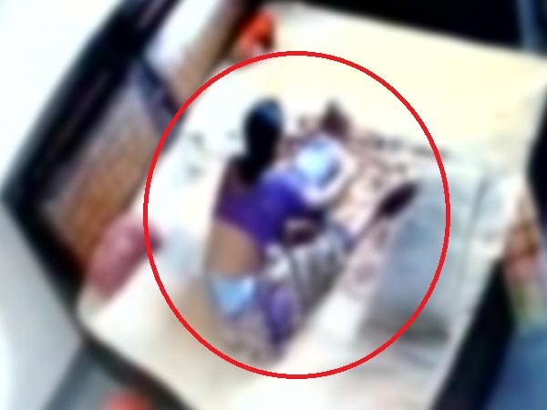 Cctv Footage Shows Ruthless Mother Beating Up Child In Bareily