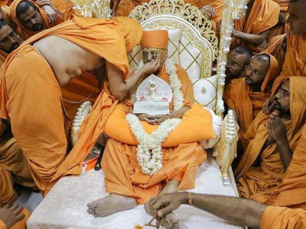 Pramukh Swami Sarangpur Antim Darshan