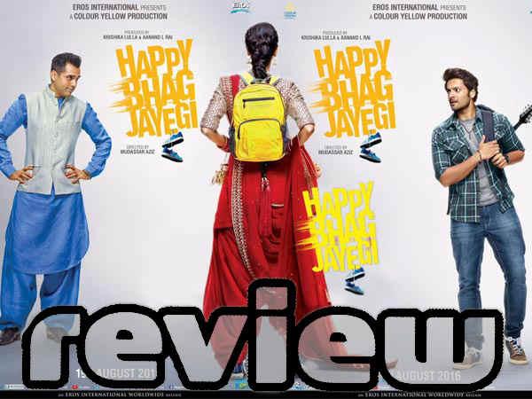Happy Bhaag Jaayegi Film Review Diana Penty Jimmy Sheirgill Abhay Deol