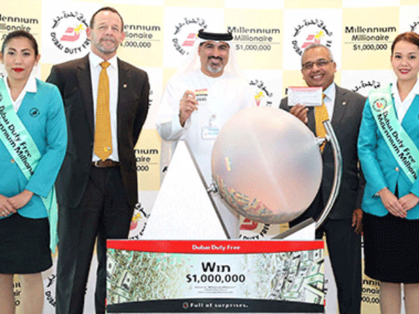 Ahmad Abdul Khader Won Lottery Of One Million Dollar