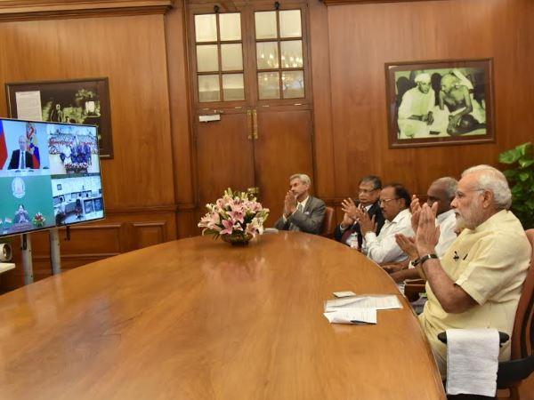 Modi Putin Jayalalithaa Inaugurates Kudankulam Nuclear Power Plant