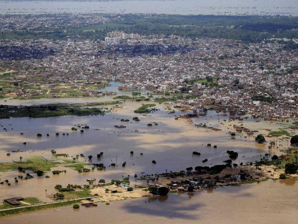 Pics Heavy Rainfall Triggers Floods Mp Up Bihar Rajasthan Gujarat