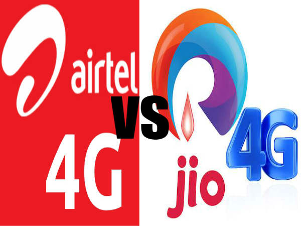 Airtel Challenges Reliance Jio With 135 Mbps Data Speed