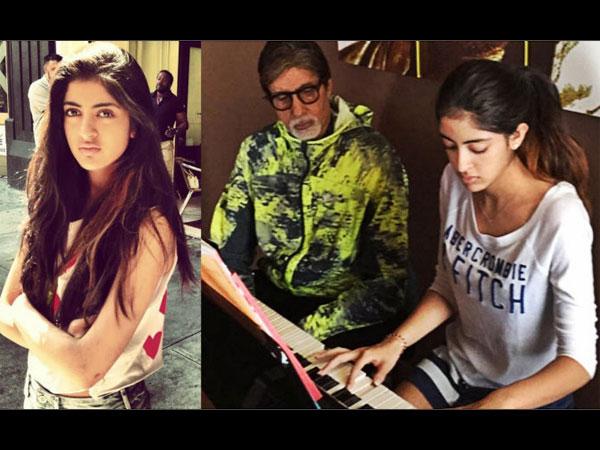 Amitabh Bachchan Letter To Granddaughter Navya Naveli For Pink