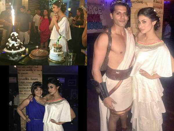 See The Birthday Pics Of Mouni Roy