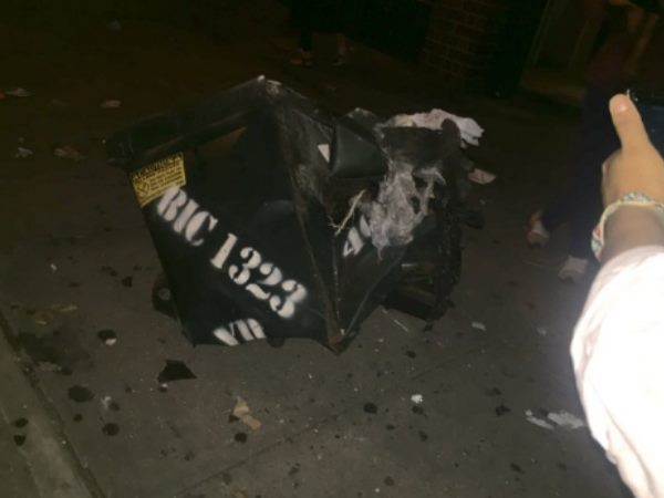 Explosion In A Dumpster In Manhattan New York Many Injured