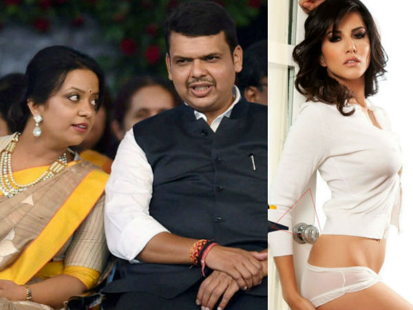 Cm Devendra Fadnavis Wife Showstopper Pune Institute Ny Faishon Week