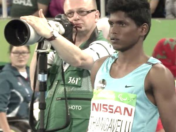 Mariyappan Thangavelu Wins First Gold Rio Paralympics