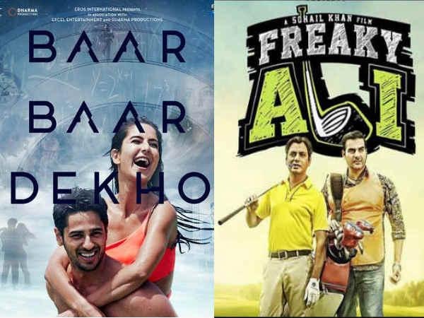 Baar Baar Dekho Freaky Ali First Day Friday Box Office Collection