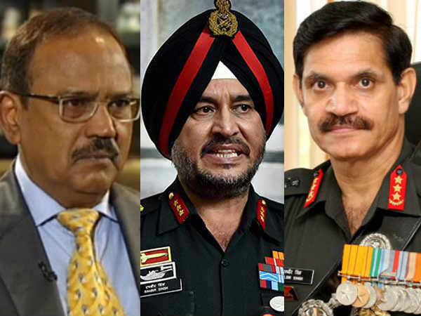 How Much Salary Get Ajit Doval Army Chief Defence Minister